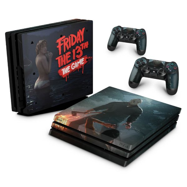PS4 Pro Skin - Friday the 13th The game Sexta-Feira 13