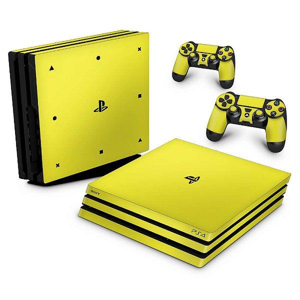 PS4 Pro Skin - Amarelo
