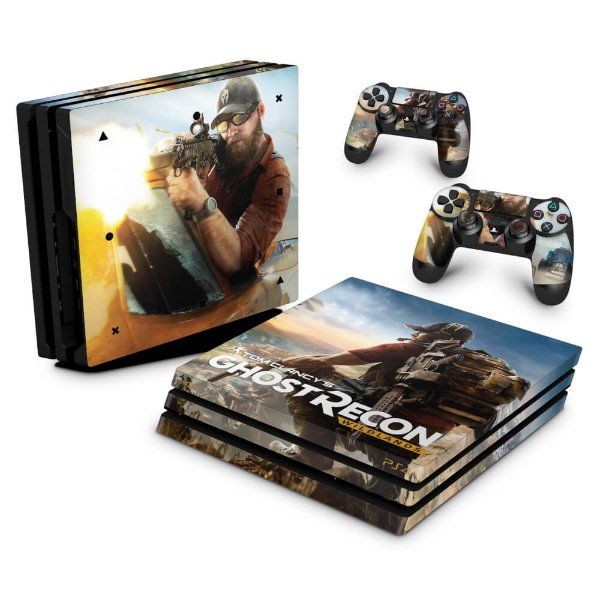 PS4 Pro Skin - Tom Clancy's Ghost Recon Wildlands