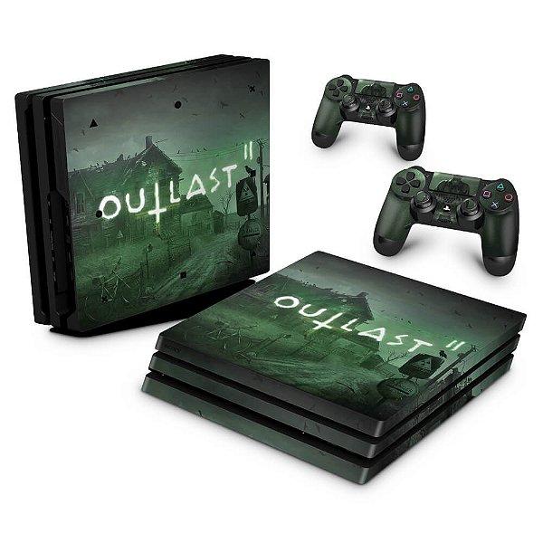 PS4 Pro Skin - Outlast 2