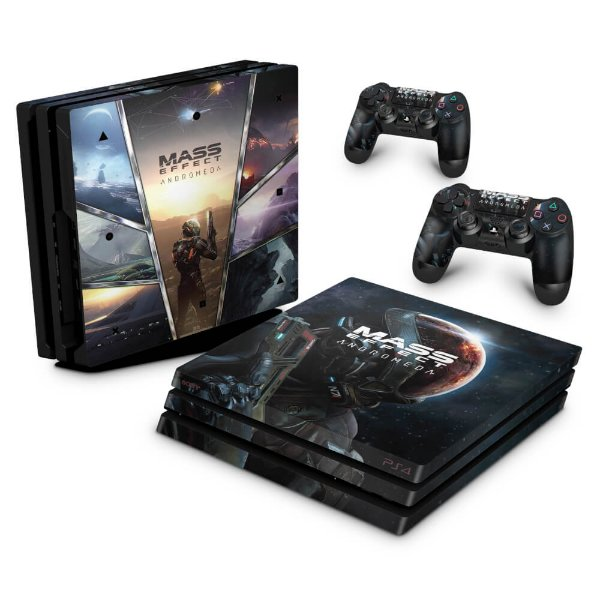 PS4 Pro Skin - Mass Effect: Andromeda