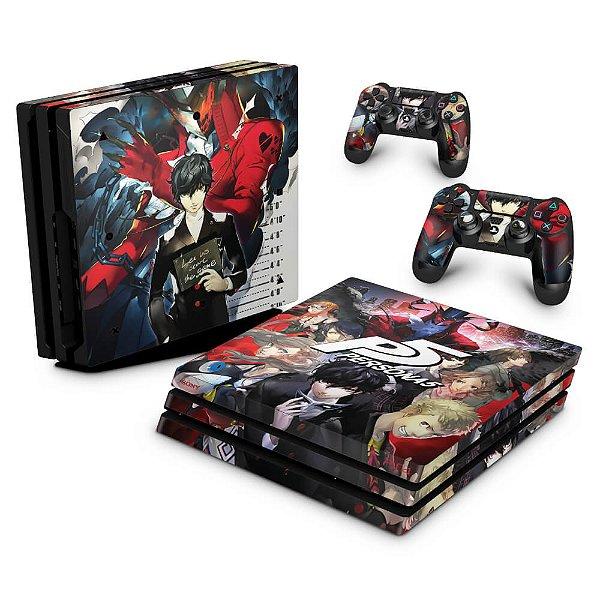 PS4 Pro Skin - Persona 5
