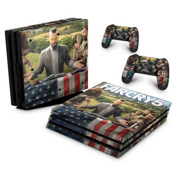 PS4 Pro Skin - Far Cry 5