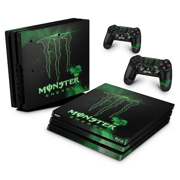 PS4 Pro Skin - Monster Energy Drink