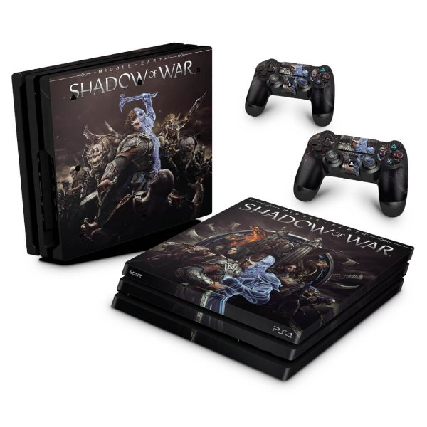 PS4 Pro Skin - Shadow of War