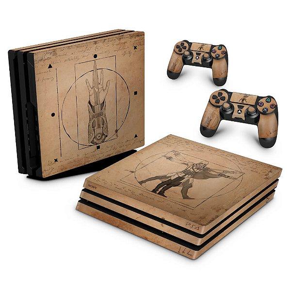 PS4 Pro Skin - Assassin's Creed Vitruviano
