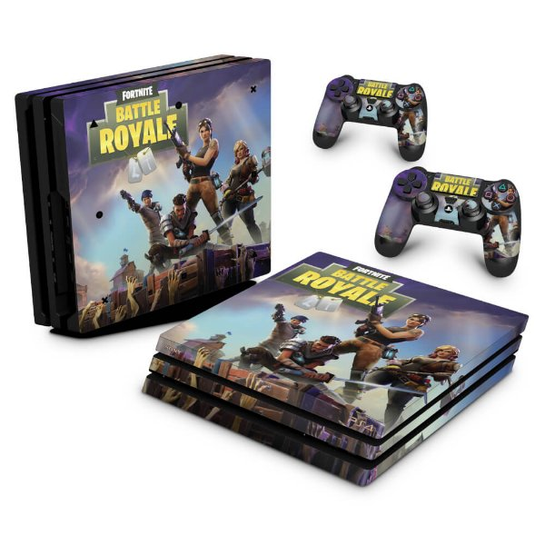 PS4 Pro Skin - Fortnite Battle Royale