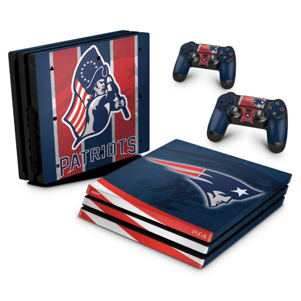 PS4 Pro Skin - New England Patriots NFL