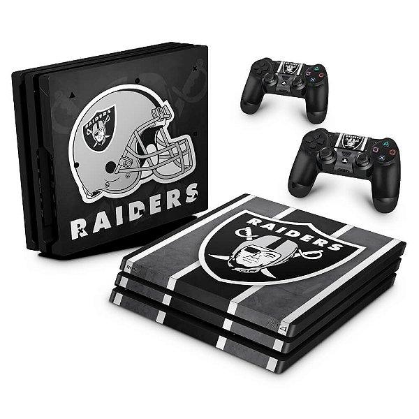 PS4 Pro Skin - Oakland Raiders NFL