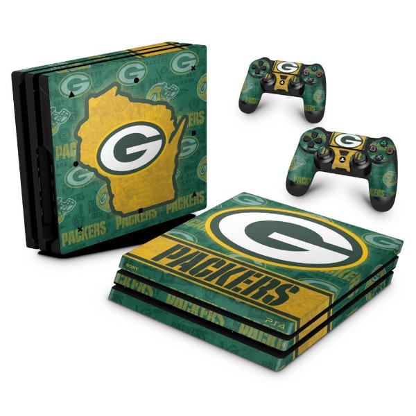 PS4 Pro Skin - Green Bay Packers NFL