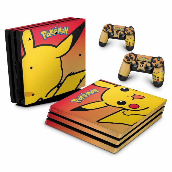 PS4 Pro Skin - Pokemon Pikachu