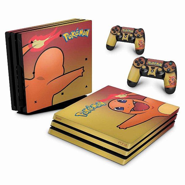 PS4 Pro Skin - Pokemon Charmander