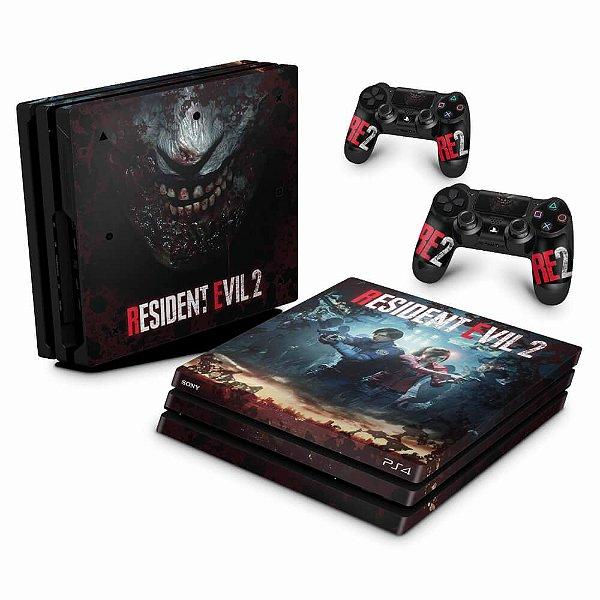 PS4 Pro Skin - Resident Evil 2 Remake