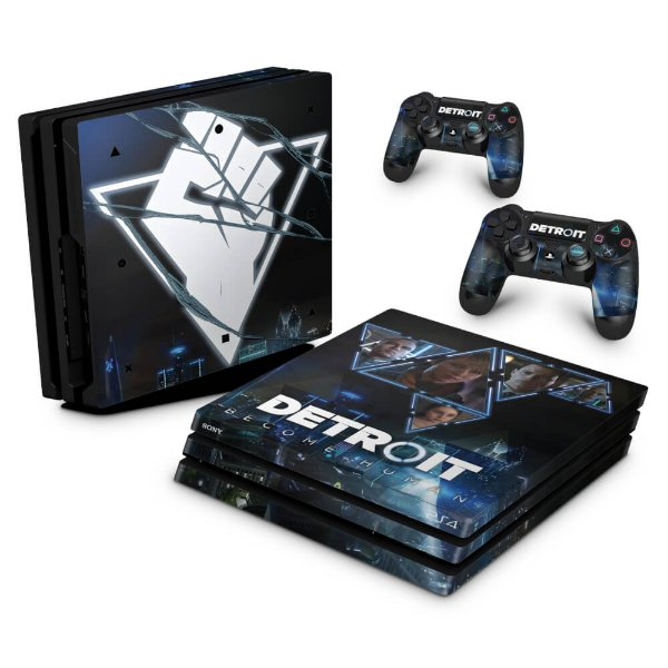 PS4 Pro Skin - Detroit Become Human