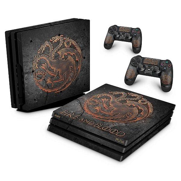 PS4 Pro Skin - Game of Thrones Targaryen