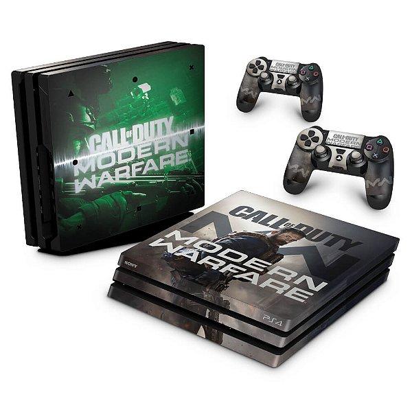 PS4 Pro Skin - Call Of Duty Modern Warfare