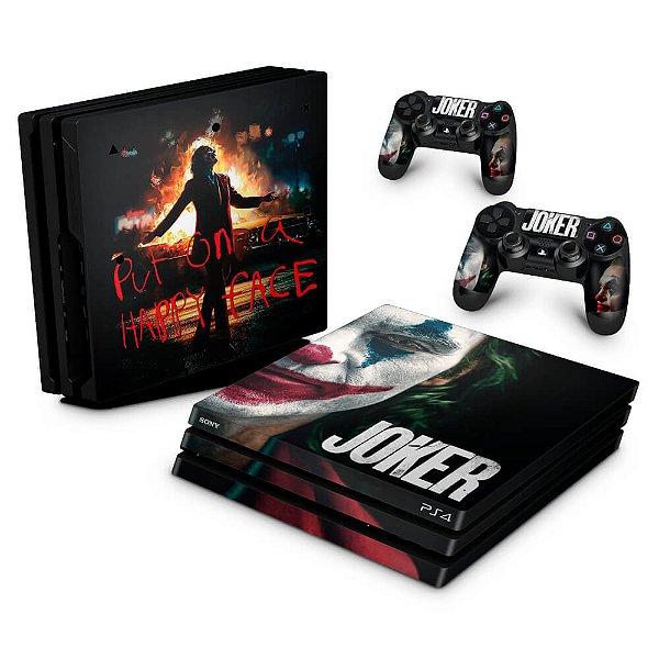 PS4 Pro Skin - Joker Coringa Filme
