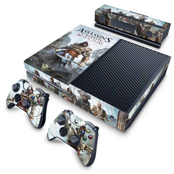 Xbox One Fat Skin - Assassins Creed Black Flag