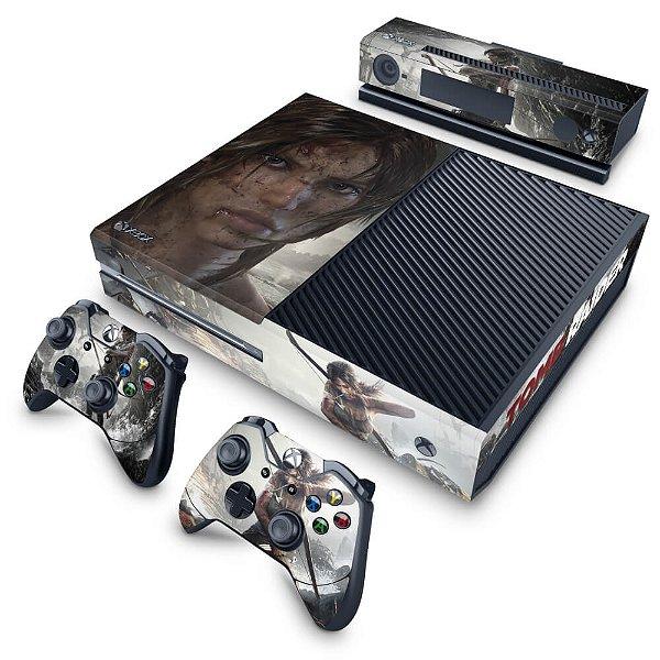 Xbox One Fat Skin - Tomb Raider
