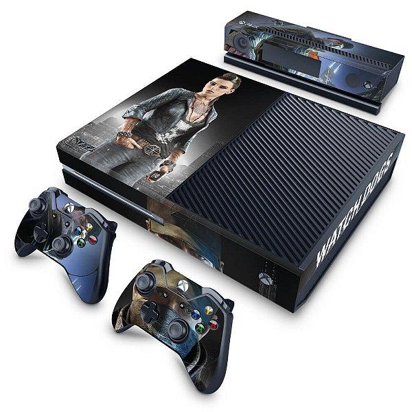 Xbox One Fat Skin - Watch Dogs