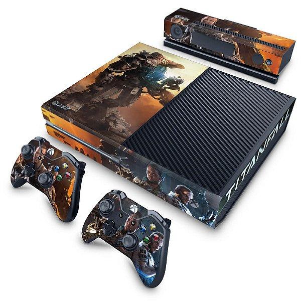 Xbox One Fat Skin - Titanfall