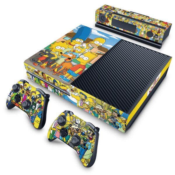 Xbox One Fat Skin - The Simpsons