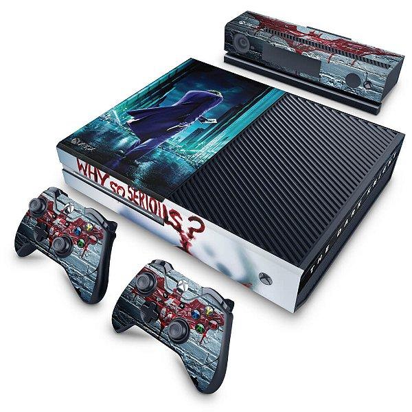 Xbox One Fat Skin - Coringa - Joker