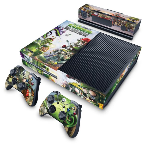 Xbox One Fat Skin - Plants Vs Zombies Garden Warfare