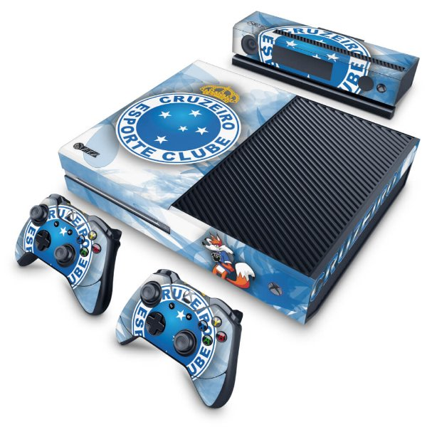 Xbox One Fat Skin - Cruzeiro