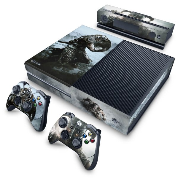 Xbox One Fat Skin - Skyrim