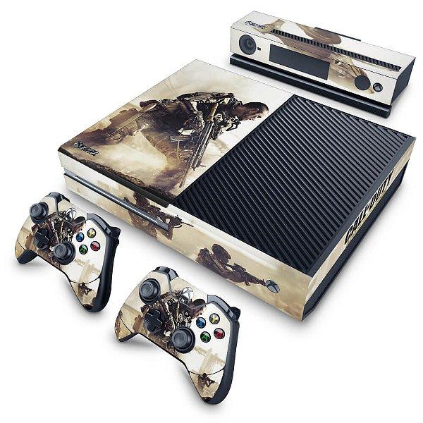 Xbox One Fat Skin - Call of Duty Advanced Warfare