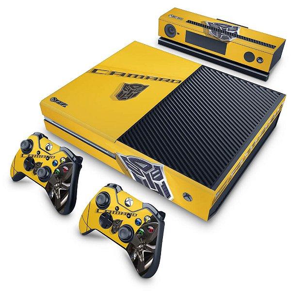 Xbox One Fat Skin - Camaro - Transformers