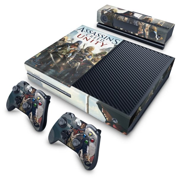 Xbox One Fat Skin - Assassins Creed Unity