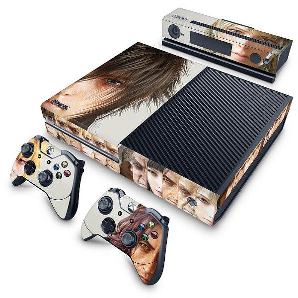 Xbox One Fat Skin - Final Fantasy XV #A