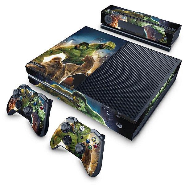 Xbox One Fat Skin - Hulk