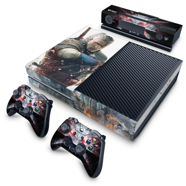 Xbox One Fat Skin - The Witcher 3 #B