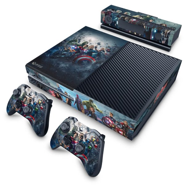 Xbox One Fat Skin - Avengers - Age of Ultron