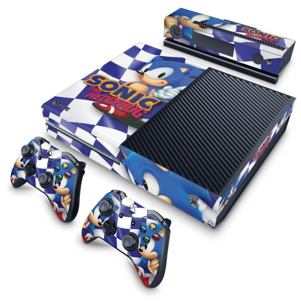 Xbox One Fat Skin - Sonic The Hedgehog