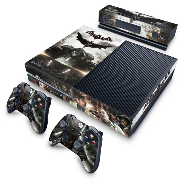 Xbox One Fat Skin - Batman Arkham Knight
