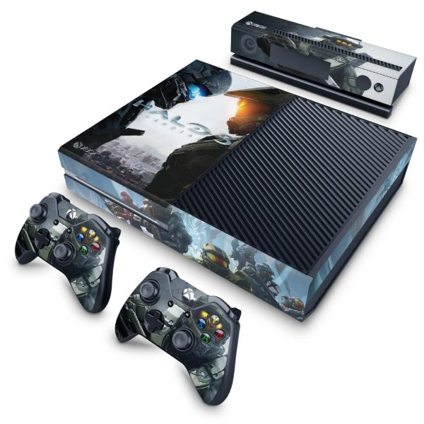 Xbox One Fat Skin - Halo 5: Guardians #B