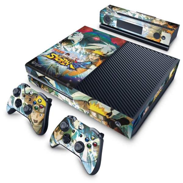 Xbox One Fat Skin - Naruto Shippuden: Ultimate Ninja Storm 4