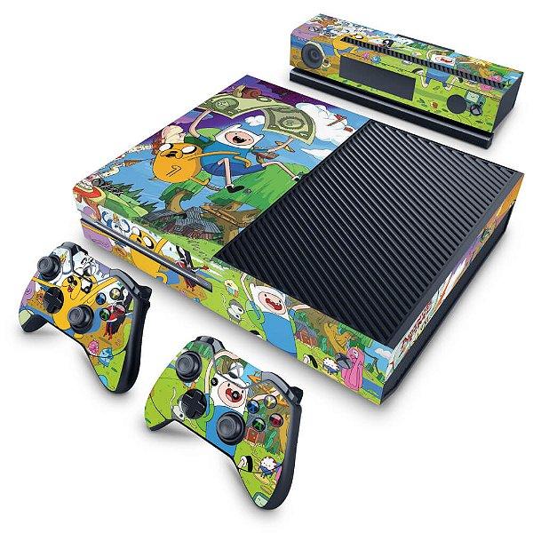 Xbox One Fat Skin - Hora de Aventura