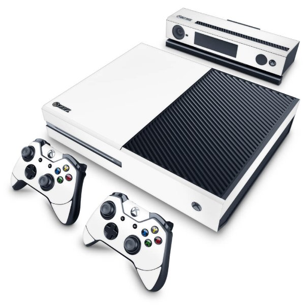 Xbox One Fat Skin - Branco