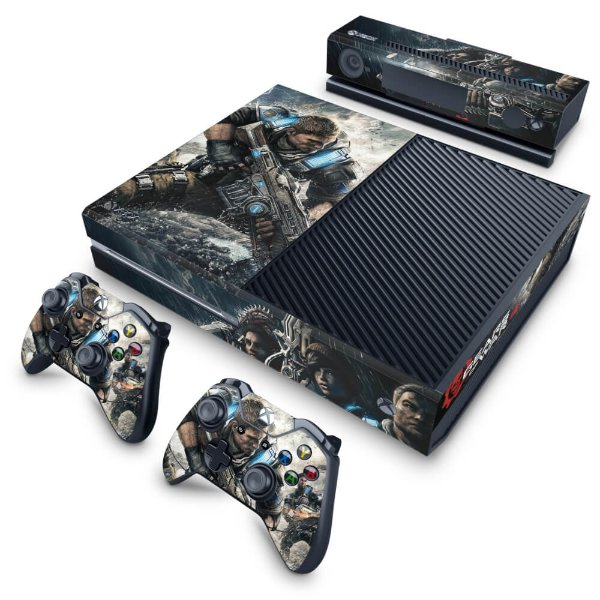 Xbox One Fat Skin - Gears of War 4