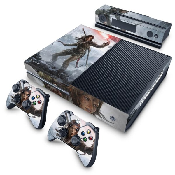 Xbox One Fat Skin - Rise of the Tomb Raider