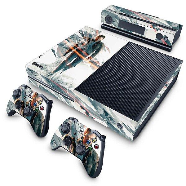 Xbox One Fat Skin - Quantum Break