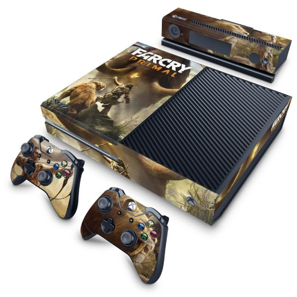 Xbox One Fat Skin - Far Cry Primal