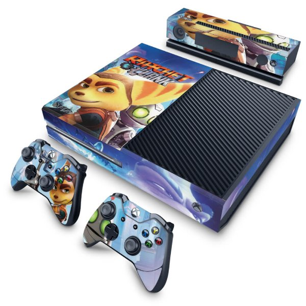 Xbox One Fat Skin - Ratchet and Clank