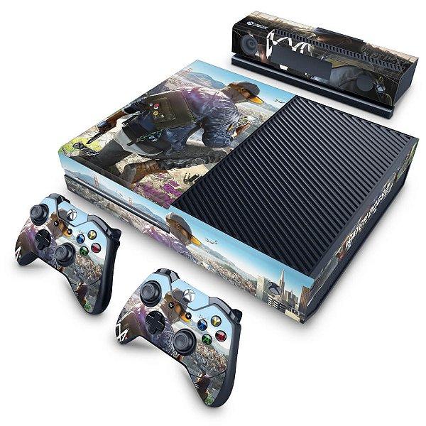 Xbox One Fat Skin - Watch Dogs 2