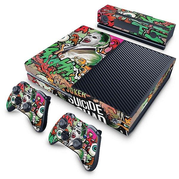 Xbox One Fat Skin - Esquadrão Suicida #B